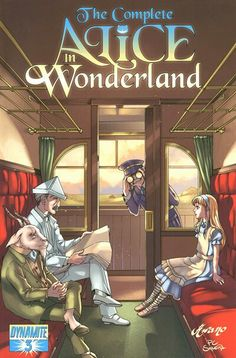 The Complete Alice in Wonderland (Dynamite, 2009) #3