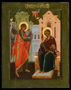 Russian Icons - Annunciation - Jan Morsink Ikonen