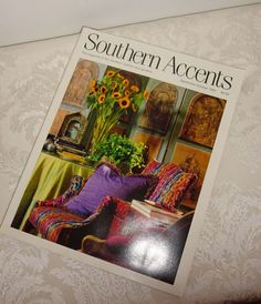 Vintage Southern Accents Magazine 1992 by WintervilleWonders