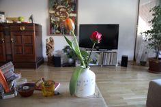 morning has broken (in our flat). Morning Has Broken, Vase, Flat, Home Decor, Homemade Home Decor, Interior Design, Jars, Home Interiors, Vases