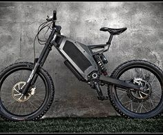 """Stealth Electric Bikes are the most powerful hybrid electric bikes available in the world. The bikes are powered by a combination of pedals and a high performance electric hub motor capable of reaching a top speed of 50 mph in virtual silence.  The bike, as the brand states is \""""A hybrid electric mountain bike on steroids.\"""" Stealth Electric Bikes are lightweight, fast, tough, and sure look like fun."""