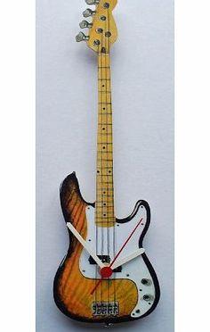 Guitar Crafts, Fender Bass Guitar, Clocks, Watches, Inspiration, Ideas, Cool Furniture, Biblical Inspiration