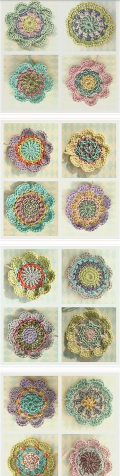 Crochet Flowers from Alicebyday - Blanket in Bloom