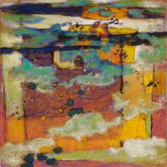 Clouds of Unknowing | pastel on paper | 14 x 14"