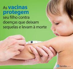 Familia.com.br | Calendário de vacinação para a criança de 0 a 2 anos.