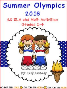 The 2016 Summer Olympics begins on August 5, 2016!This NO PREP Unit has 62 pages of activities to teach your students about the Olympics and Paralympics in a fun and engaging way!  They will practice reading and applying comprehension strategies, close reading, and writing using graphic organizers and the writing process.