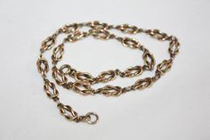 Vintage Love Knot Choker Necklace Yellow Rose Gold by patwatty, $20.00