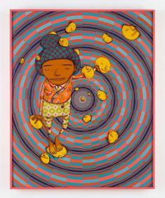 O Sonho Feliz (The Happy Dream), by OsGemeos. Image: Courtesy of Max Yawney / OSGEMEOS / Lehmann Maupin, New York & Hong Kong.