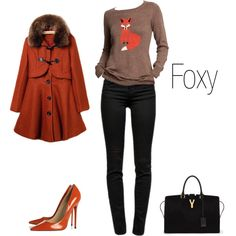 """""""foxy"""" by jamie-tack on Polyvore"""