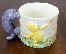 Classic Pooh Charpente Mug Eeyore 3D Cup Piglet