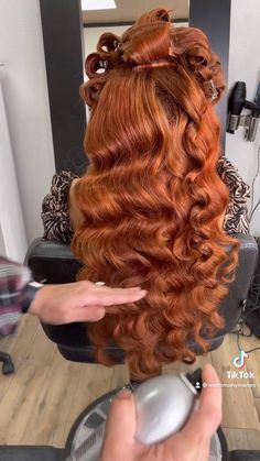 Quince Hairstyles, Evening Hairstyles, Bride Hairstyles, Hair Up Styles, Long Hair Wedding Styles, Natural Hair Styles, Bridal Hair Buns, Wedding Hair And Makeup, Hair Makeup