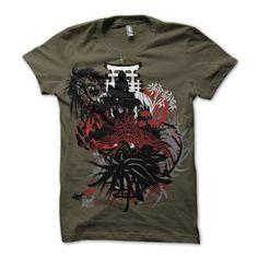 T-Shirt Designs :: Samurai Dream -