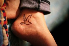 dove. #tattoo #tattoos #ink