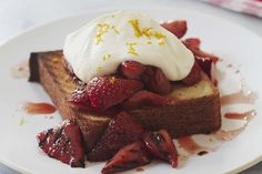 Make this Grilled Strawberry Shortcake recipe by Giada De Laurentiis on the BBQ grill!