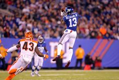 Odell Beckham Jr., New York Giants Take Out Cincinnati Bengals (Highlights) | Elite Sports NY