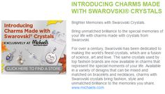 Extra Extra Read All About It! Check out the Charms Made with Swarovski Crystals ad in the Craft Ideas Shopping List! #swarovski #cousindiy #craftideas #charmsmadewithswarovskicrystals #charms #swarovskicrystals #diyjewelry #diy #michaels