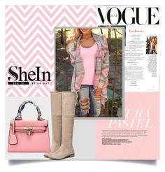 """""""SheIn V/5"""" by zenabezimena ❤ liked on Polyvore featuring WithChic, topset and shein"""