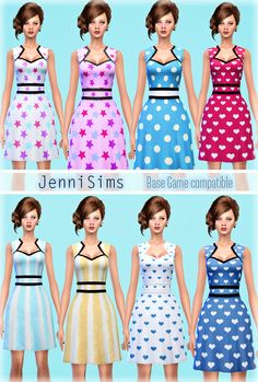 Jennisims: Downloads sims 4: Sets of Dress Base Game compatible   Sims 4 Updates -♦- Sims Finds & Sims Must Haves -♦- Free Sims Downloads
