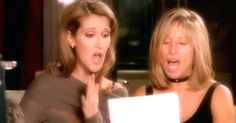 "Celine Dion And Barbra Streisand Perform ""Tell Him"" In Beautiful Classic Duet via LittleThings.com"