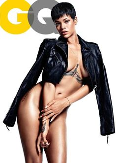 Rihanna poses completely naked as GQ magazine's 'Obsession of the Year' - NY Daily News