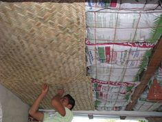 Green Home Building and Sustainable Architecture: Using Earthbags as Ceiling Insulation