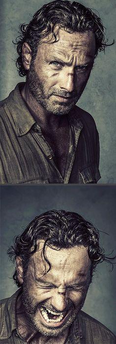 Rick grimes portraits. Omg                                                                                                                                                      More
