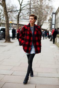 On the Street……Buffalo Girl, London « The Sartorialist