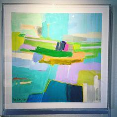 """ B O O M B O S T I K ""  4 6  x 4 6 | A C R Y L I C  B O X  Headed to @westelmdallas on Sunday!  For inquires, please email lindseymeyerart@gmail.com. #lindseymeyerart #dallasart #painting #interiordesign #rooms #originalart #art #artforsale #instaart #abstractart #color #foryourwalls #design"