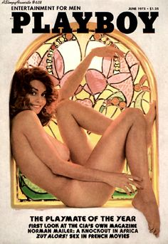 Marilyn front cover Playboy June 1975
