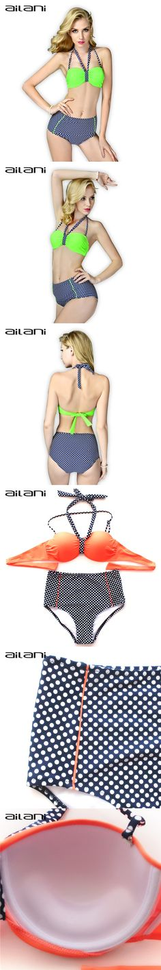 Summer Style Modest Swimwear Women Tankini Swimsuit With A High Waist New Fashion Ladies Vintage Dots Bathing Suits XXL AL130 $22.68 Tankini, Modest Bikini, Swimsuit With Shorts, New Fashion, Womens Fashion, Women Swimsuits, Bikinis, Swimwear, Bathing Suits