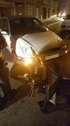 CORES DE CAMBADOS: UNHA MULLER FERIDA NUN ACCIDENTE EN CAMBADOS
