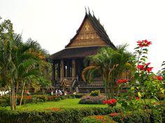 LAOS, Vientiane , Tempel Phra Keo (Museum)