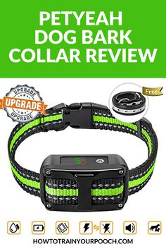 The PetYeah Dog Bark Collar is a quality product from a proud manufacturer of different bark collars and remote shock collar systems. Read on to learn more. Dog Barking At Night, Stop Dog Barking, Best Bark Collar, Bark Collars For Dogs, Electronic Dog Collars, E Collar Training, Dog Shock Collar, Dog Training Techniques, Best Dog Training