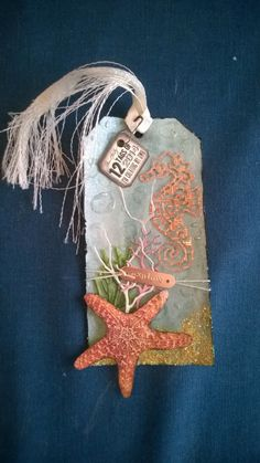 My tag for Tim Holtz's July tag challenge - thanks Tim for getting me back in the scrap cave! #12tagsof2014
