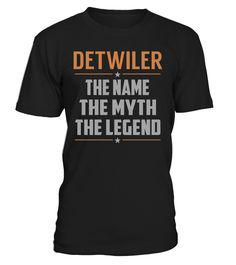DETWILER - The Name - The Myth - The Legend #Detwiler