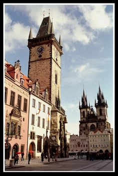 Old Town Square in Prague_ Czech Republic
