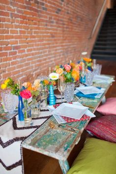 Colorful Eco-Conscious Wedding Inspiration | Photo by Kate Elizabeth