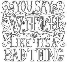 You Say Witch_image