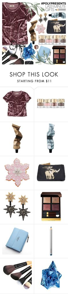 """""""Last-Minute Gifts"""" by ana3blue ❤ liked on Polyvore featuring Hollister Co., Smith & Cult, Aesop, Figue, INC International Concepts, Tom Ford, Laura Mercier and Thierry Mugler"""