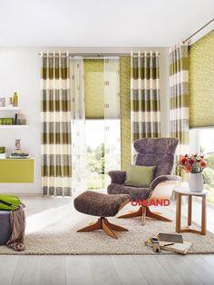 Unland Danilo, Fensterideen, Vorhang, Gardinen und Sonnenschutz - curtains, contract fabrics, pleated blinds, roller blinds and more. Made in Germany