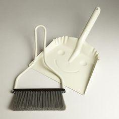 Ivory Smiley Dustpan
