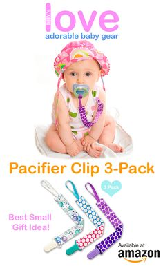 Take $5 OFF using LOVEGEAR promocode. Lilly's Love Super Cute 3Pac Pacifier Clips