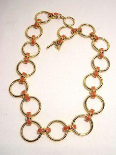 Banana Republic BR Goldtone Necklace Chain  #BananaRepublic #Chain