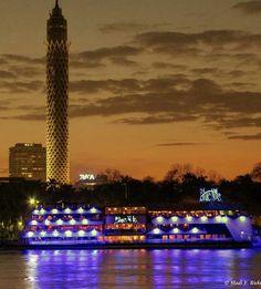 Nile ..cairo tower..