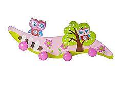 Porte-manteaux à quatre têtes en bois à thème de chouette rose pour les enfants Mousehouse Gifts http://www.amazon.fr/dp/B00UZ8M5GE/ref=cm_sw_r_pi_dp_5M6ewb01R0TGZ
