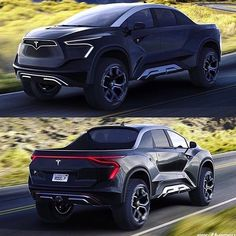 Another post to get you hyped up about the Tesla pickup reveal in months! New Tesla Truck, Tesla Pickup Truck, Ford Pickup Trucks, Tesla Motors, Lamborghini, Bugatti, Tesla News, Audi, Top Luxury Cars