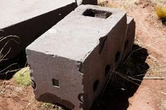 The enigmatic megaliths of Puma Punku in Bolivia make it one of the most mysterious ancient sites in the world. Aliens And Ufos, Ancient Aliens, Ancient History, Ancient Mysteries, Ancient Artifacts, Puma Punku, Inca Architecture, Stone Blocks, Ancient Egyptian Art