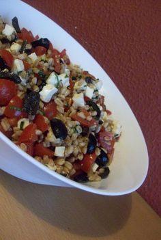 Insalata di farro Vegetarian Recipes, Cooking Recipes, Healthy Recipes, Pizza Recipes, Louisiana Recipes, Best Italian Recipes, Fruit And Veg, Quiches, Light Recipes