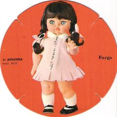 Arianna furga 40 cm catalogo dolly do