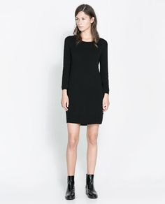 ZIP - BACK DRESS - Dresses - Woman | ZARA United States